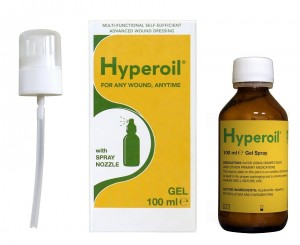 Żel na rany HyperOil butelka 100 ml spray